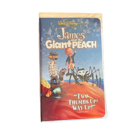 Disney James and the Giant Peach original VHS
